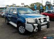 2009 Toyota Hilux GGN25R 08 Upgrade SR5 (4x4) Blue 5 SP AUTOMATIC for Sale