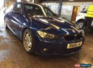 2008 BMW 320D 2.0 M-SPORT - SPARES OR REPAIR, BIT SMOKEY for Sale