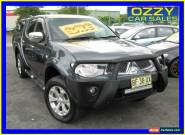 2010 Mitsubishi Triton MN MY11 GLX-R (4x4) Grey Manual 5sp M Double Cab Utility for Sale