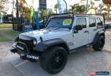 Classic 2008 Jeep Wrangler JK Unlimited Silver Automatic A Softtop for Sale