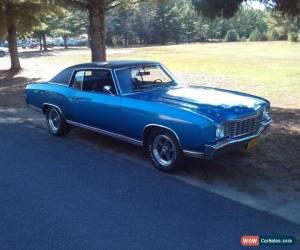 Classic 1972 Chevrolet Monte Carlo for Sale