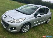 PEUGEOT 207 2011 SILVER  for Sale