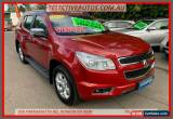 Classic 2014 Holden Colorado 7 RG MY14 LTZ (4x4) Red Automatic 6sp A Wagon for Sale