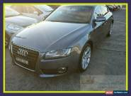 2011 Audi A5 8T Silver Automatic A Hatchback for Sale