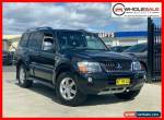 2005 Mitsubishi Pajero NP Platinum Edition Black Automatic A Wagon for Sale