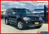 Classic 2005 Mitsubishi Pajero NP Platinum Edition Black Automatic A Wagon for Sale