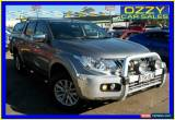 Classic 2016 Mitsubishi Triton MQ MY16 GLS (4x4) Silver Automatic 5sp A for Sale