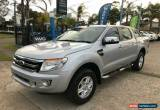 Classic 2014 Ford Ranger PX XLT Silver Automatic A Utility for Sale