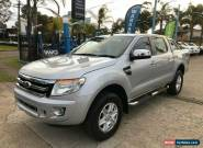2014 Ford Ranger PX XLT Silver Automatic A Utility for Sale