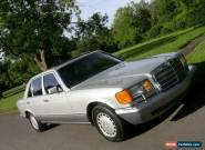 1986 Mercedes-Benz S-Class for Sale