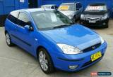 Classic Ford Focus Zetec (2002) 3D Hatchback Manual (2L - Multi Point F/INJ) 5 Seats for Sale