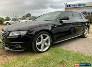 2009 Audi A4 B8 8K Black Automatic A Wagon for Sale