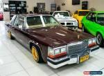 1981 Cadillac De Ville Automatic A for Sale