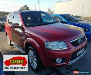 Classic 2010 Ford Territory SY MkII Ghia AWD Red Automatic 6sp A Wagon for Sale