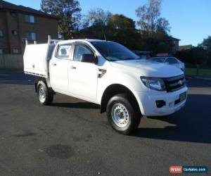 Classic 2015 Ford Ranger PX XL 3.2 (4x4) White Automatic 6sp A Dual Cab Chassis for Sale