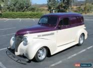 1939 Chevrolet Sedan Delivery for Sale
