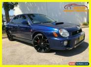 2002 Subaru WRX Blue undefined for Sale