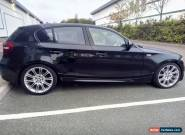 2007 BMW 1 Series 120D M Sport 5 Door 177BHP Metalic Black Spares or Repair for Sale