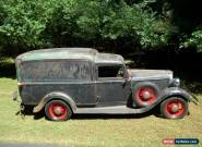 1934 Dodge Panel Delivery for Sale