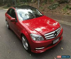 Classic 2010 Mercedes-Benz C250 W204 MY10 CGI Avantgarde Magma Red Automatic 5sp A for Sale