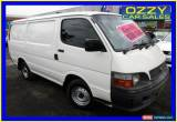 Classic 2004 Toyota Hiace RZH103R White Manual 5sp M Van for Sale