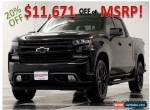 2019 Chevrolet Silverado 1500 MSRP$57515 Blacked Out RST 4X4 Crew V8 4WD for Sale