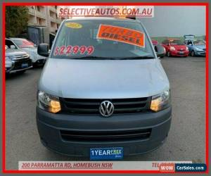 Classic 2012 Volkswagen Transporter T5 MY12 TDI 340 LWB Low Silver 7sp Van for Sale