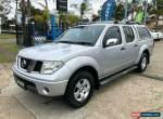 2006 Nissan Navara D40 ST-X Silver Manual M Utility for Sale