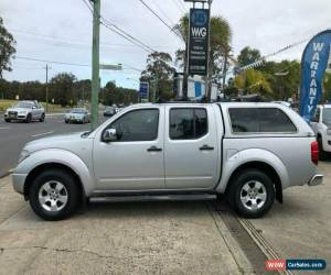 Classic 2006 Nissan Navara D40 ST-X Silver Manual M Utility for Sale