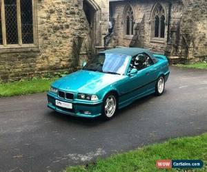 Classic BMW M3 3.0 E36 Cabriolet for Sale