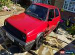 Golf GTI MK2 1986 - HUGE SPEC forged 1.8t Conversion  for Sale