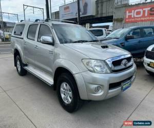 Classic 2008 Toyota Hilux KUN26R SR5 Silver Automatic A Utility for Sale