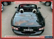 2007 Mazda MX-5 NC MY06 Upgrade Coupe Black Manual 6sp M Roadster for Sale