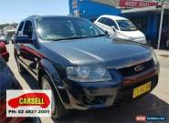 2010 Ford Territory SY MkII TX Grey Automatic 4sp A Wagon for Sale