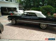 1963 Chevrolet Impala White Top Convertible for Sale