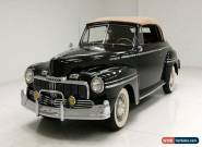 1948 Mercury Deluxe 8 Convertible for Sale