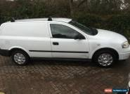 2004 VAUXHALL ASTRAVAN ENVOY CDTI WHITE SPARES OR REPAIR  for Sale