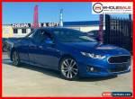 2016 Ford Falcon FG X XR6 Blue Manual 6sp M Utility for Sale