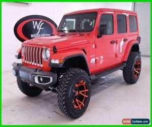 Classic 2019 Jeep Wrangler Unlimited Sahara Custom for Sale