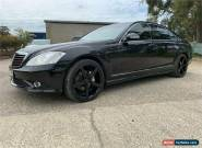 2007 Mercedes-Benz S350 V221 Black Automatic A Sedan for Sale