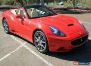 2010 Ferrari California for Sale