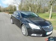 2011 VAUXHALL INSIGNIA SRI NAV CDTI BLACK DIESEL 79,696 MILES for Sale