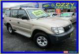 Classic 2001 Toyota Landcruiser Prado RZJ95R RV (4x4) Champagne Manual 5sp M Wagon for Sale