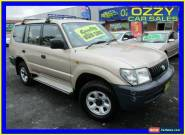 2001 Toyota Landcruiser Prado RZJ95R RV (4x4) Champagne Manual 5sp M Wagon for Sale