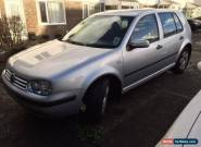 VW Golf Match 2003 1.6   Low 66000 mileage 1owner for Sale