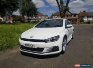 White Volkswagen Scirocco R Line Blue Tech TD 2.0 Diesel Coupe for Sale