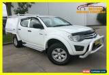 Classic 2011 Mitsubishi Triton MN MY11 GL-R Utility Double Cab 4dr Man 5sp 980kg 2.5DT for Sale