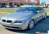 Classic 2004 BMW 5-Series 530i 4dr Sedan for Sale