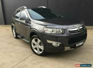 2013 Holden Captiva Grey Automatic A Wagon for Sale