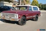 Classic 1972 Chevrolet Blazer K5 4x4 for Sale